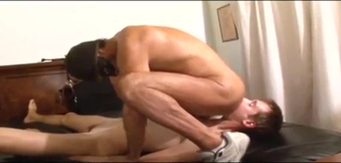 Lessons in love Lesbian ass gets strapon