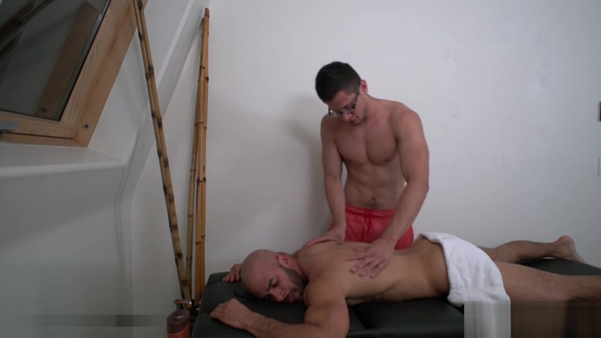 Big dick jock flip flop and massage old men my young men
