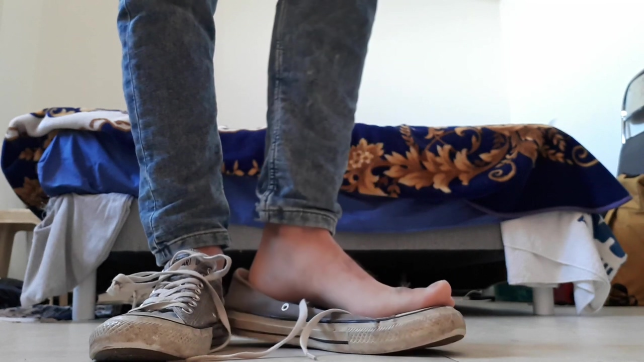 Boy Barefeet In Dirty Sneakers more hardcore than youporn