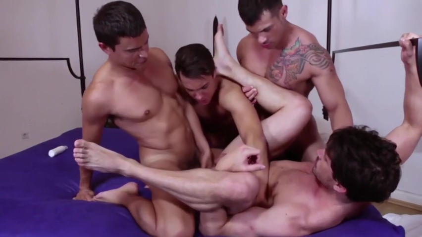 Gang Group-Sex Gabe tits nude