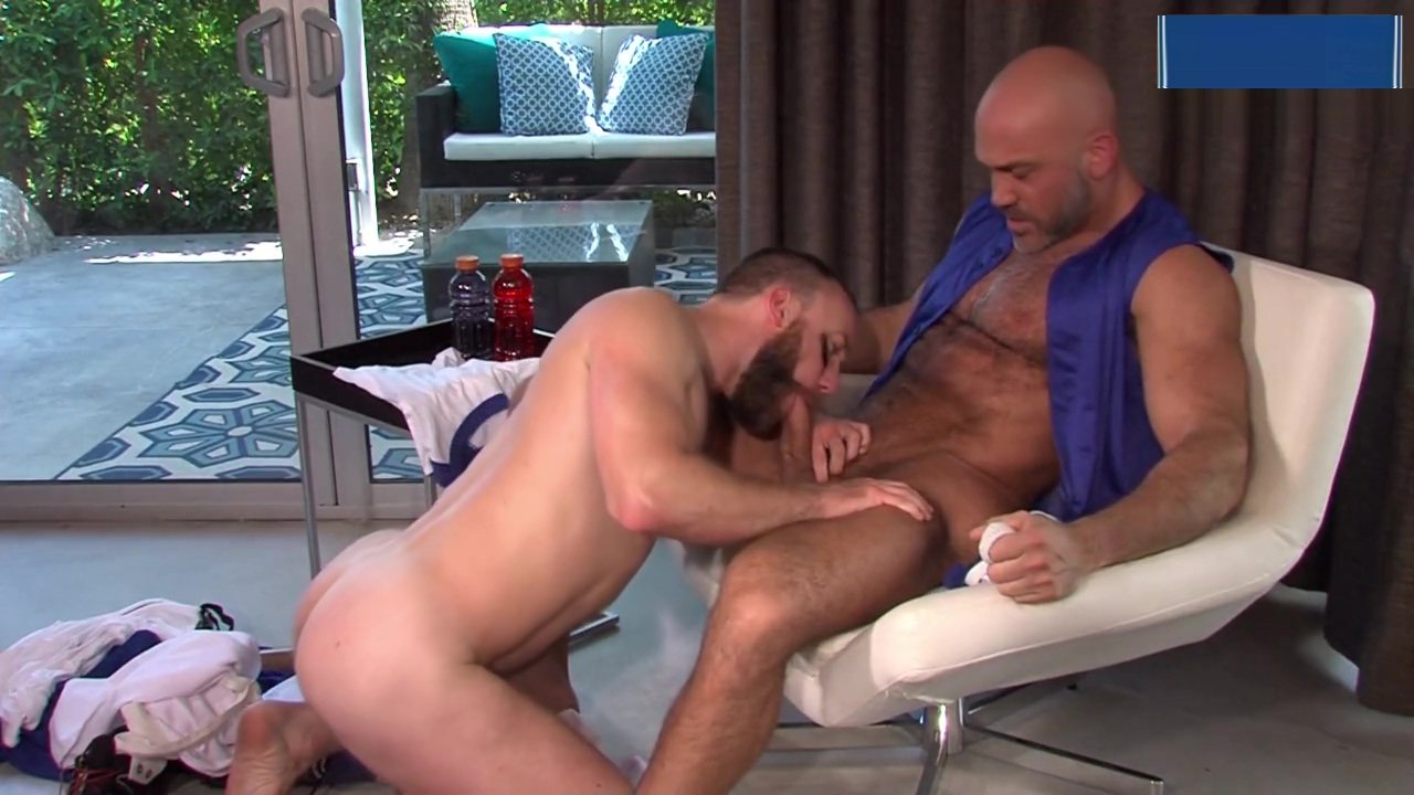 Jesse Jackman and Nick Prescott in Out! from TitanMen hot thick hawaii girls fuck