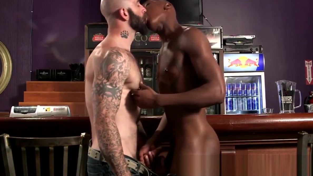 Buff stud spitroasted by white cock Nude thick black girl
