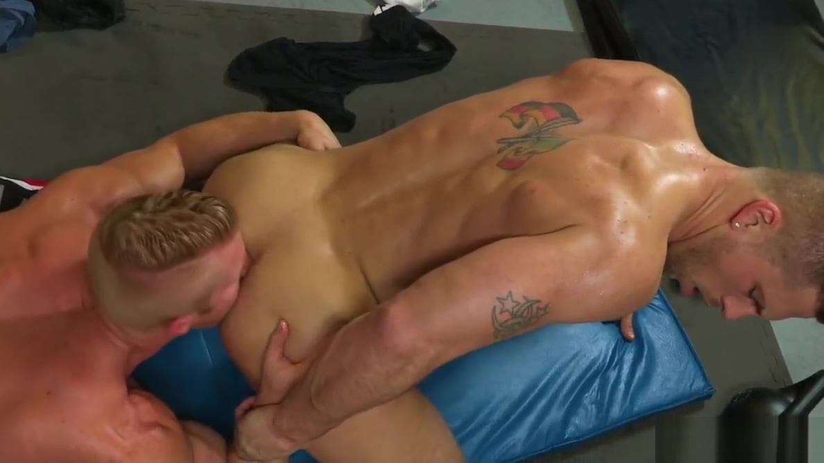 Homo Cross fit training Asians in teddy porn