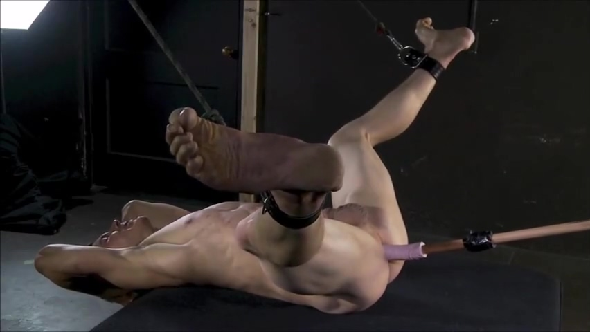 Impale a Slave First time jack off with friend