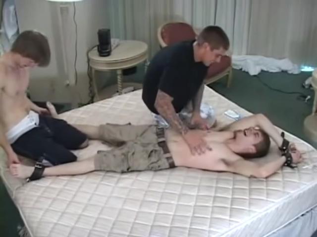 Happy ticklish victim Asian Teen Fucks Herself With Glue Stick