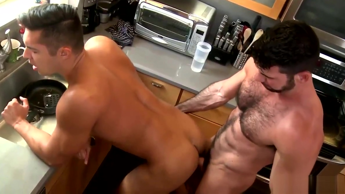 MenOver30 The Santoro Couple Hot Kitchen Sex Make money with shaved ice