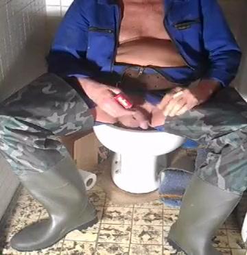nlboots - smokin coveralls camo waders latrine free porn virgin anal sex