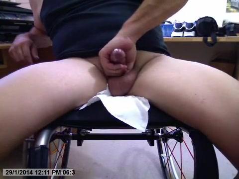 Wheelchair jerk off big booty black pornstars