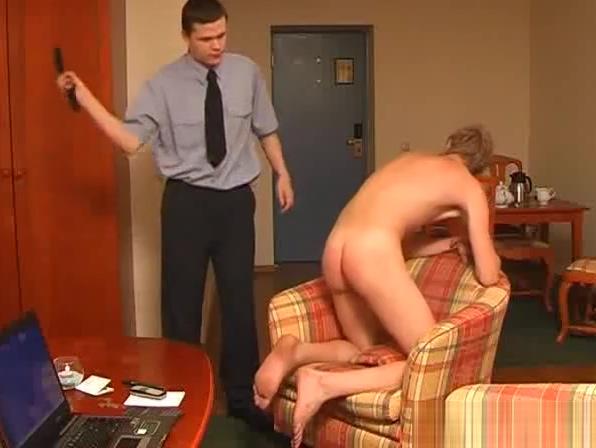 Spank Him Hard! nude bald sex girl