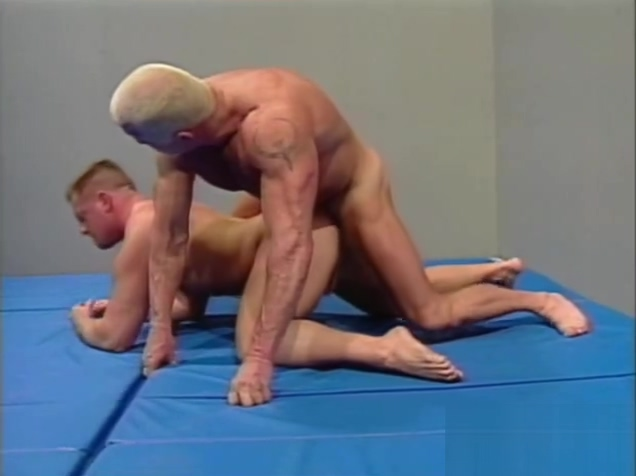 Brett Akers & Mark Magnos wrestling Pornstar that can squirt
