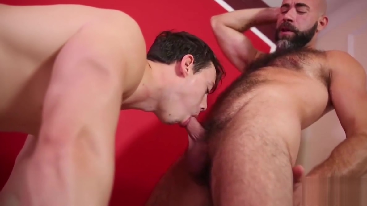 Bald hunk pokes his little twink bitch Rob nelson gay porn