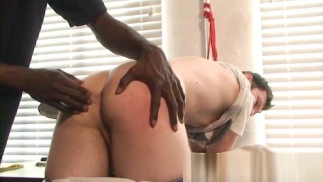 Hot Boi and Luke Cross: Black Dude Spanking A Nasty White Ass Calvin pissing on ford
