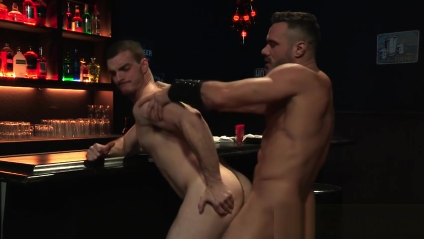 Buff hunks rim and fuck gay forced to wank in front of straights