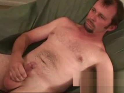 Real mature amateur tugging off until he empties his balls Male stripper cum video