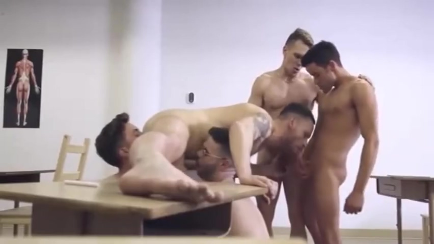 Teacher and his students video russian rough sex