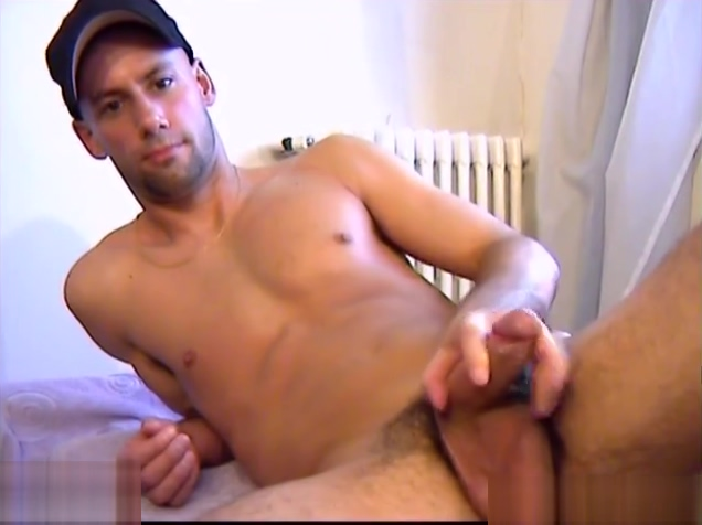 Franck a real next door guy gets wanked his big cock by us! Big girl tiny bikini