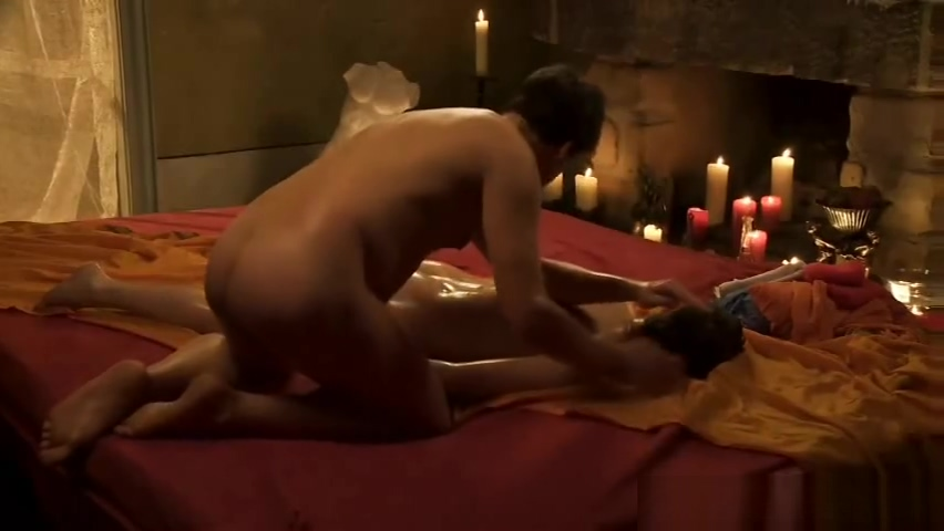 Exotic Tantric Massage Learning Two dicks and one mature woman