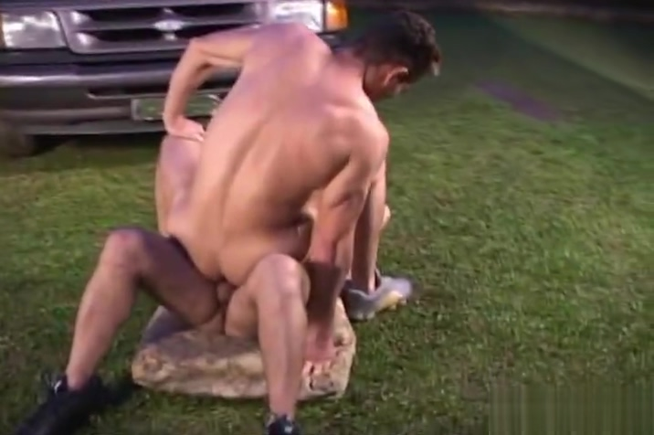 Beefy guys doing dirty business outdoor Big boobs without clothes