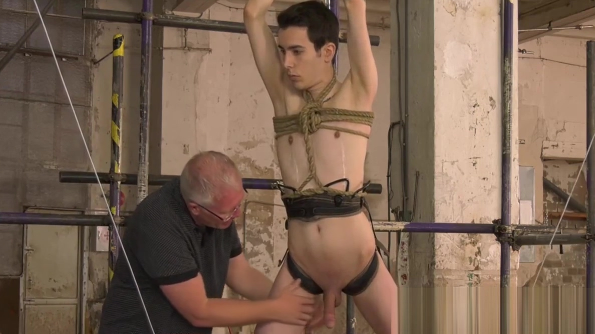 Skinny sub Alexis Tivoli chained for BDSM fetishist blowjob Slut wife training cynthia