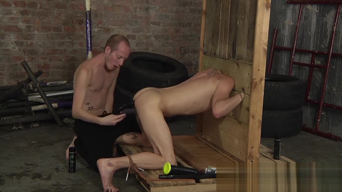 Bound young slave has his ass penetrated by sex toys and his Hot Pink Bikini Sale