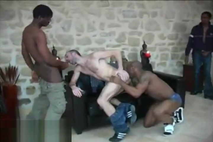 White guy gangbang by 4 black tops sexy outfit for fat women