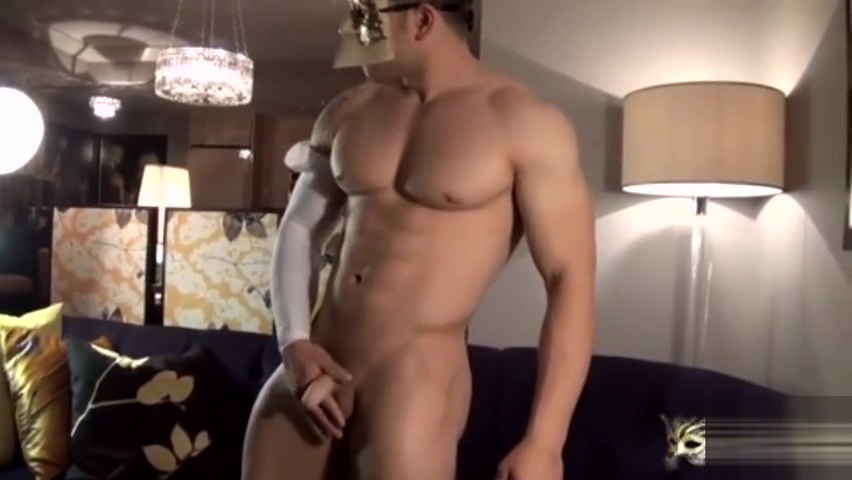 hot muscle Free gay double ended dildo video