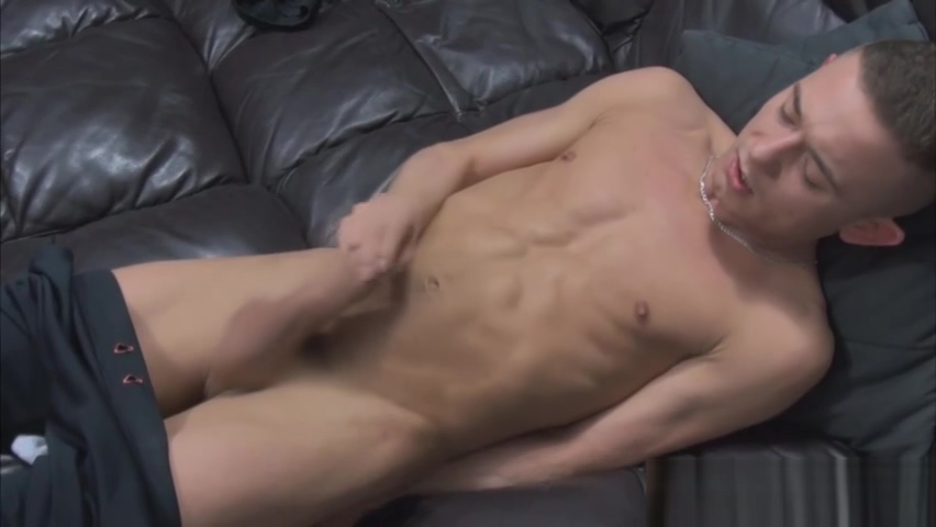 Gay dude enjoys jerking off really hard Sexy Hardcore Video