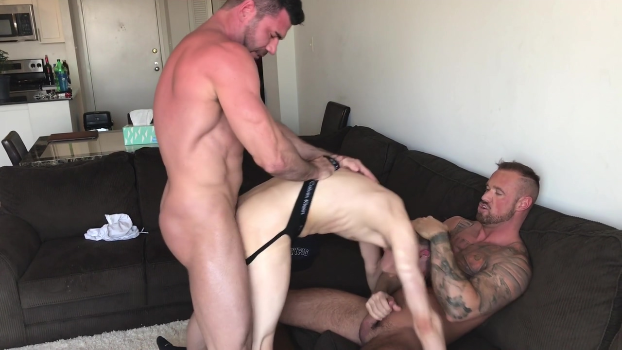 Aa Vid - Twink Boy Barebacked By Two Studs ass fucked amater ass how videos