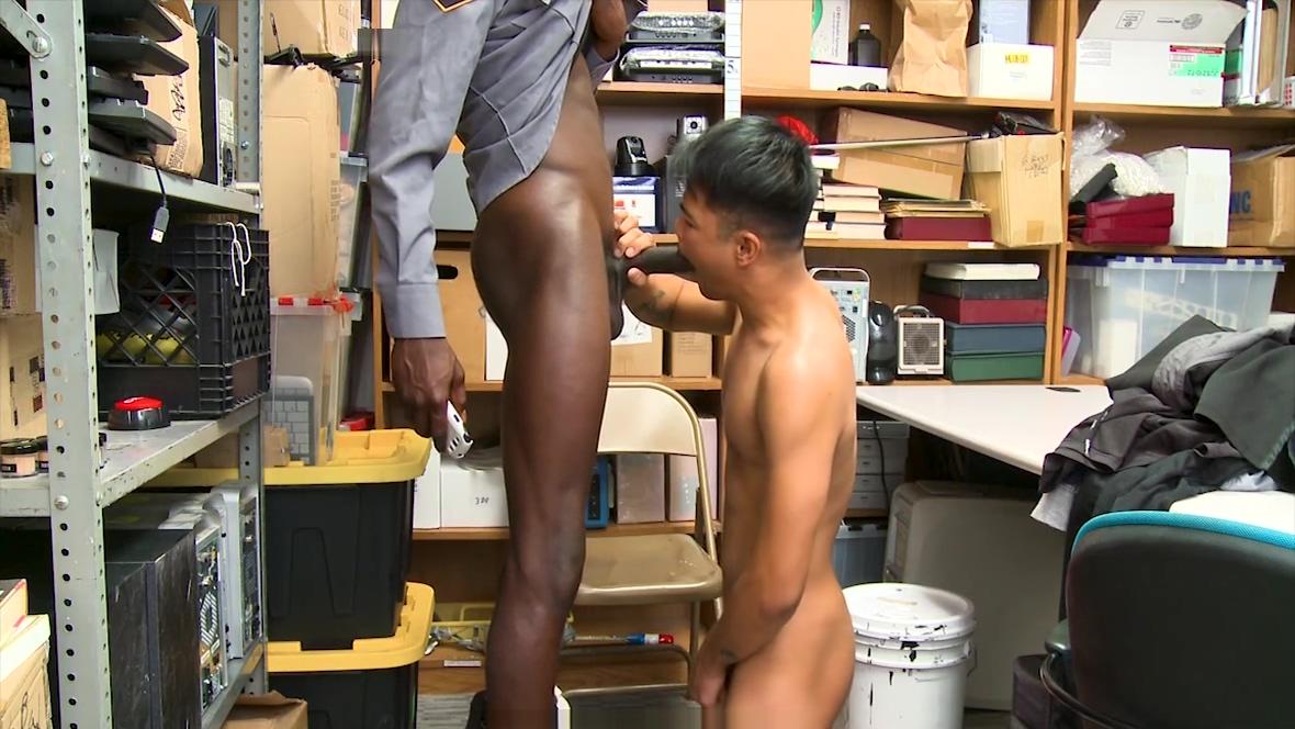 GayShoplifter - Black Cock Barebacks Hot Stud robyn webster sports centre
