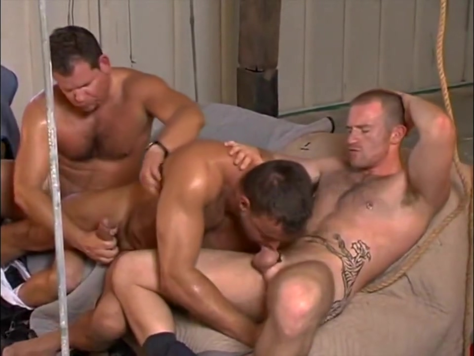 Adam, Jack, and Jeff fuck Granny s sex