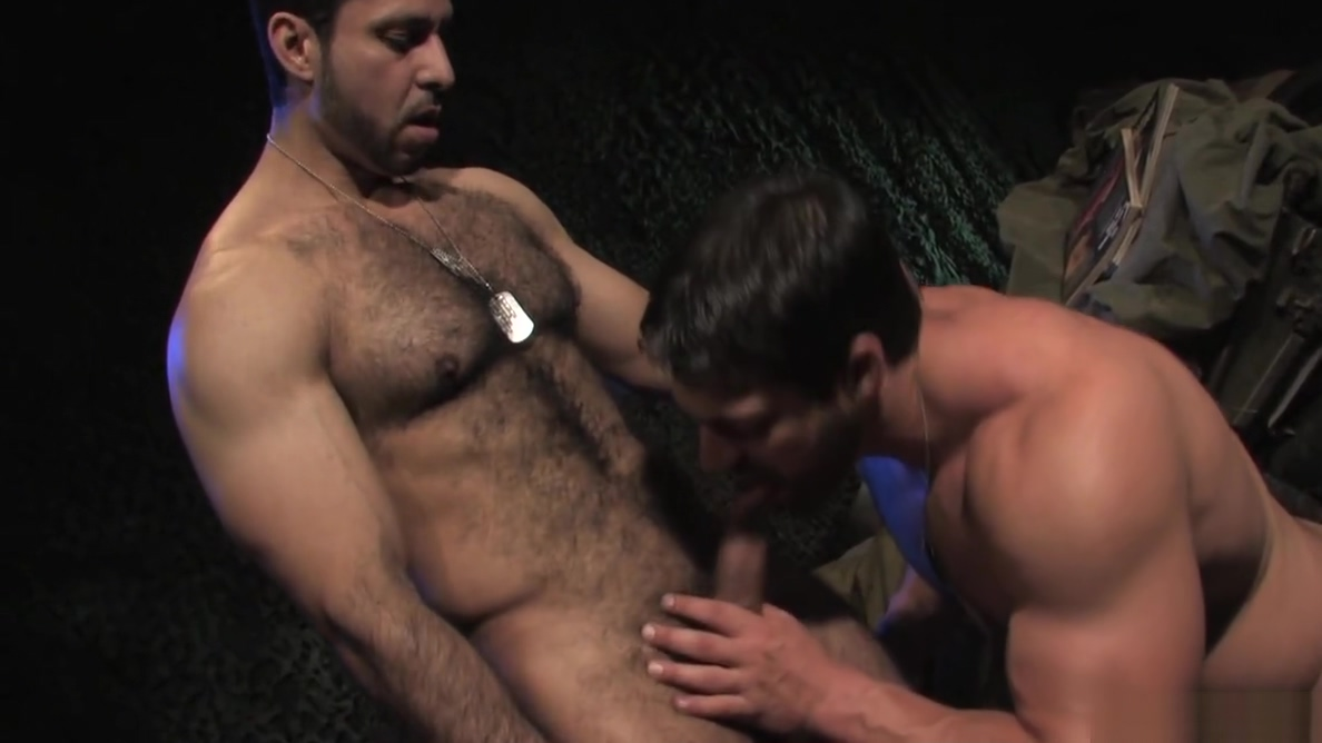 Adam Champ pounds Vince Ferelli military style Porn stars assholes