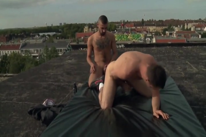 Fucking Raw on a Berlin Rooftop fat granny ass fucked