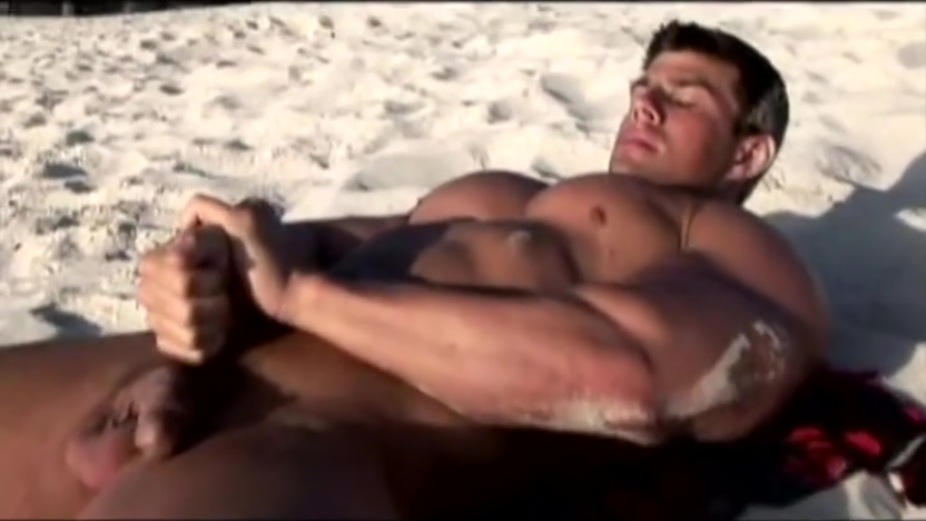 Zeb jerking off at the beach adult students in college