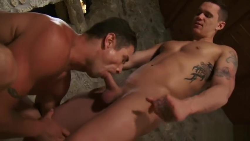 Tattoo gay anal sex with facial Hairy slut housewife