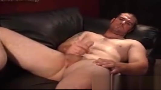 Beefy Construction worker stroking Naked sexy girls ass