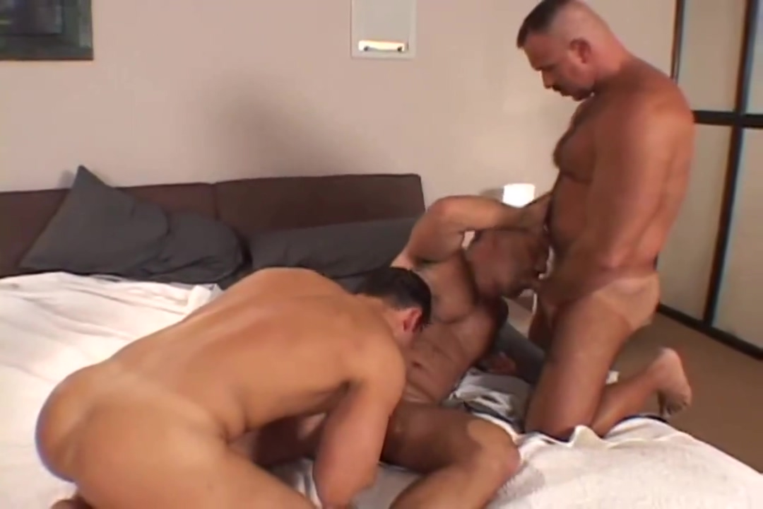 Mark Dominic Patrick double headed dildo fucking gifs