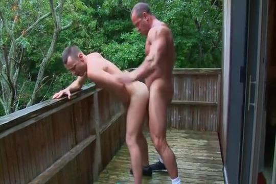 Muscle Dad Piss Play and BB Femdom lesbians