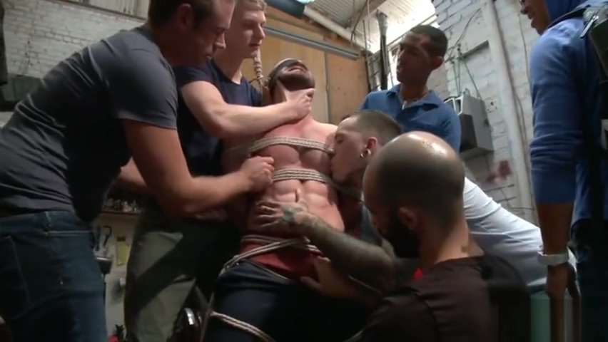 Muscle gay bound with facial Everybody loves raymond fake boobs gif