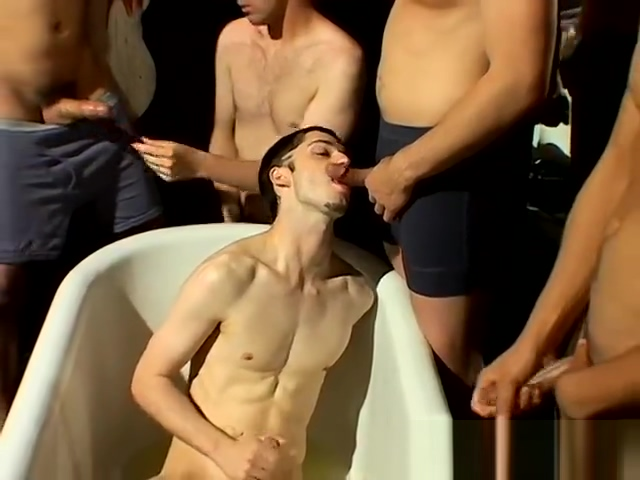 Gay twink piss slave movies With schlongs pointing at him from all Milf masturbate in shower