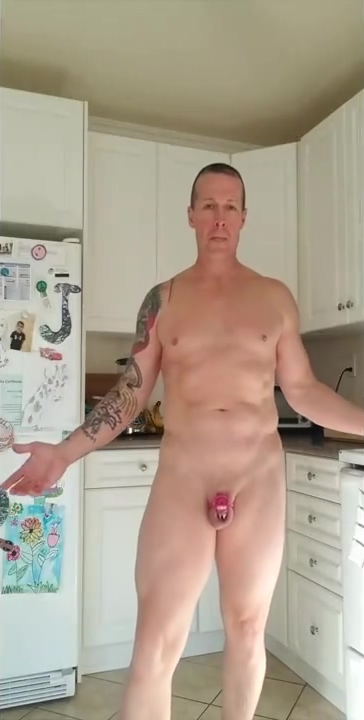 verbal dilf in chastity stretches hole Jerrod johnston