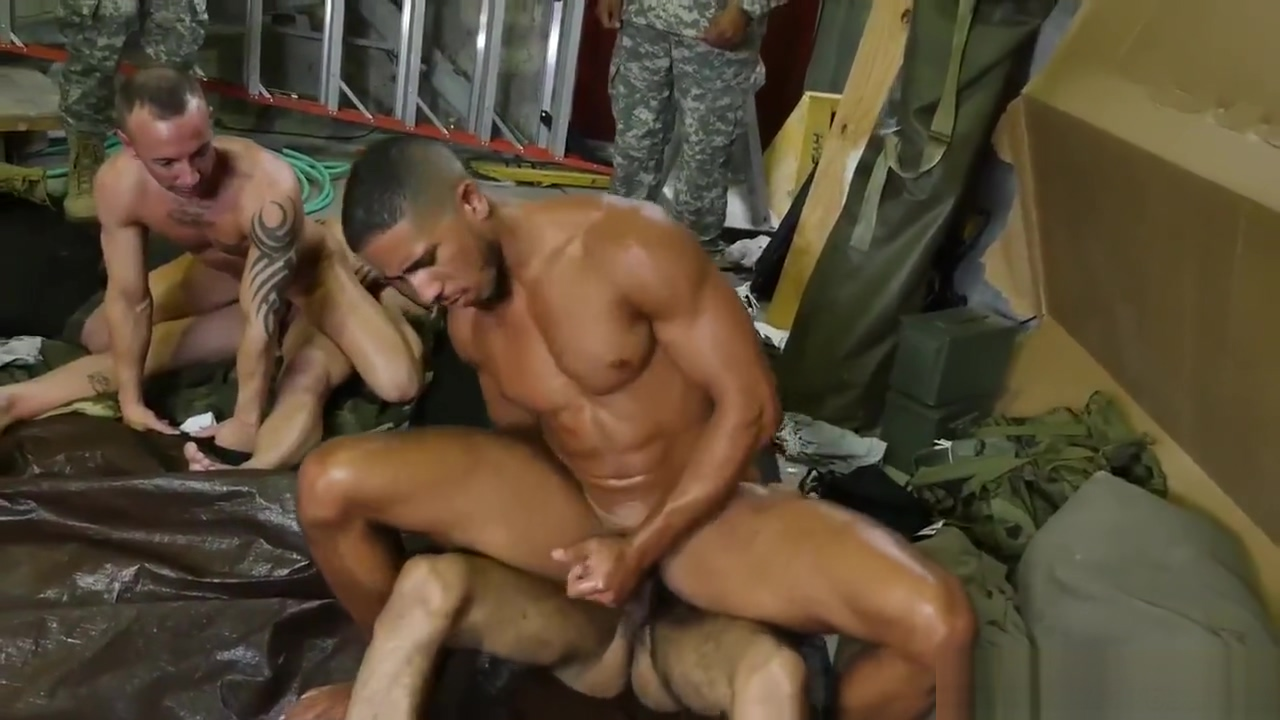 Cock military gay Fight Club Husban wife pose naked together