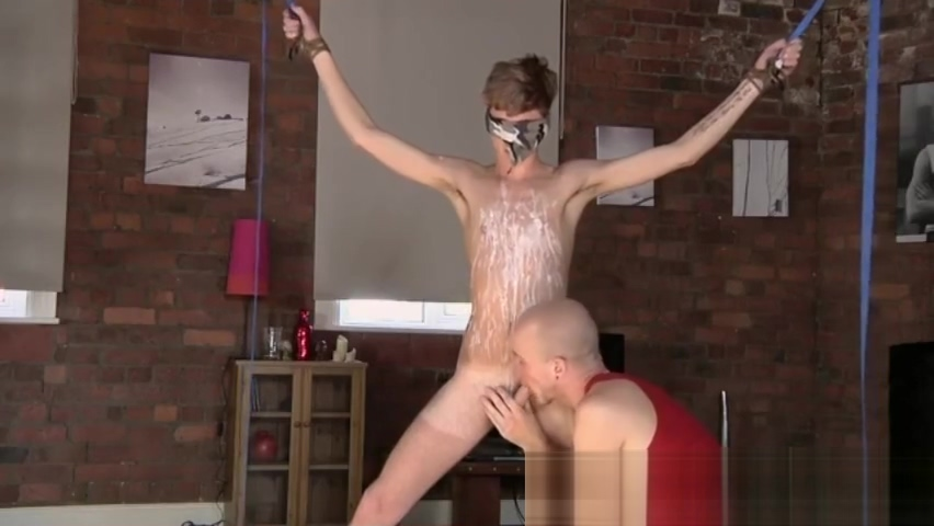 Clay pit bondage gay porn Kieron Knight enjoys to suck the steaming jism How to make a man want you back