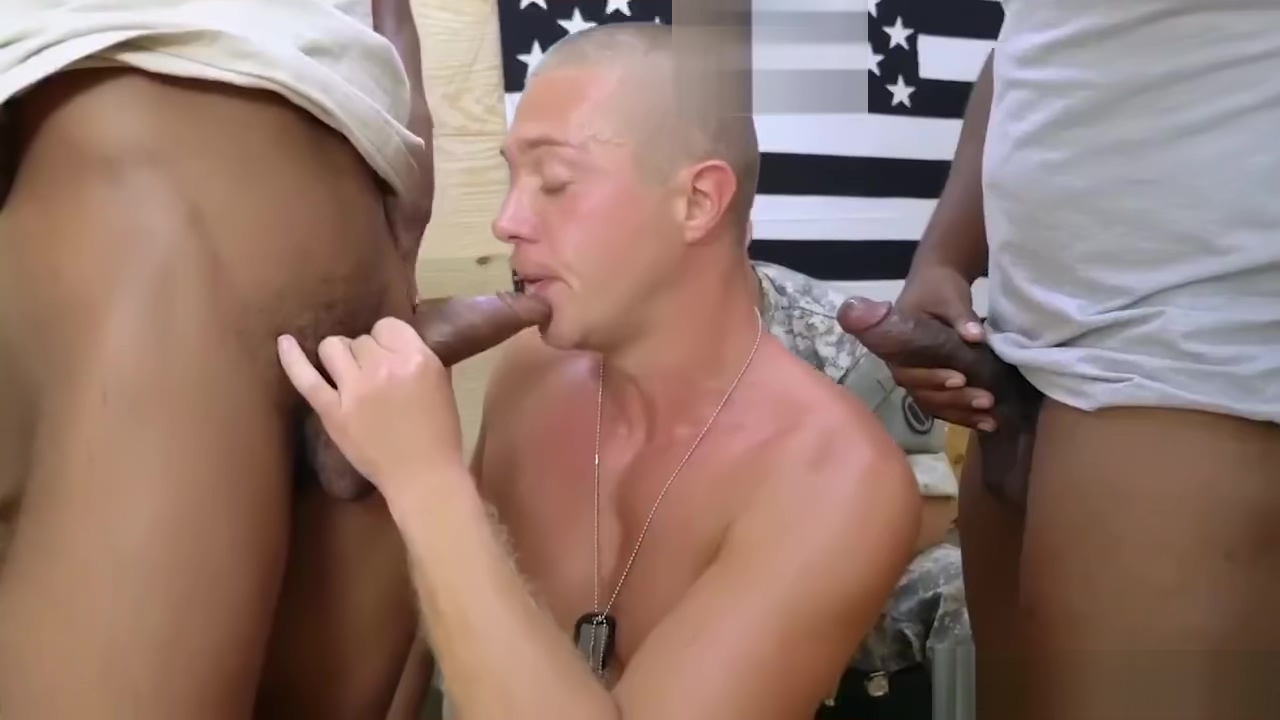 Hot young military gay Staff Sergeant knows what is best for us. Bdsm school girl