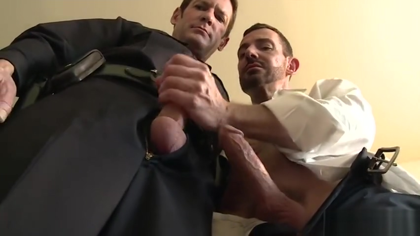 Big dick gay threesome and facial fucked ass dick of white mature