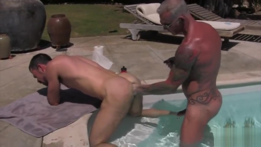 Tattoo wolf double fisting and cumshot Sexy black chubby pussy