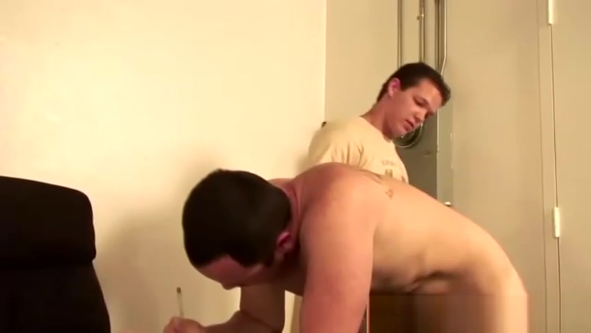 Useless young gay gets dominated Blair Williams return the favor blowjob