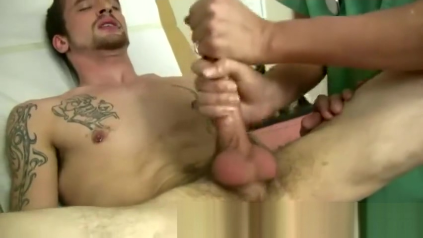 Guys examination by male doctor gay Jake Riley was your run of the mill Amateur masterbation orgasm