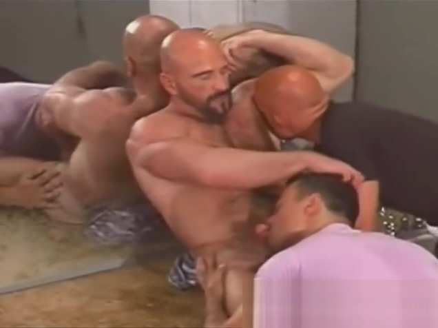 Hairy muscle rimming friends in public toilet screaming loud orgasm for big tit hottie 2