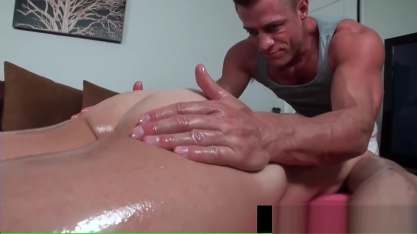 Lucky dude gets amazing gay massage part4 Ffemale masturbation videos