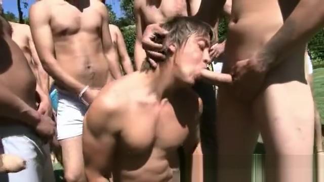 Outdoor gay gangbang fuck fest part6 2004 bikini brooke calendar